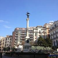 Photo taken at Piazza dei Martiri by Ma K. on 2/16/2013