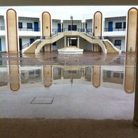 Photo taken at lycée pilote kairouan by Yassin Z. on 3/31/2014