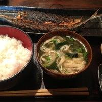 Photo taken at 炭火焼干物食堂 越後屋 権兵衛 by ukca on 10/23/2012