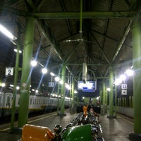 Photo taken at Stasiun Gambir by Naraya Dewi on 7/1/2013