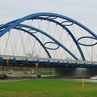 Photo taken at Gateway Bridge by Bill M. on 3/24/2014