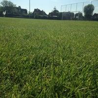 Photo taken at don bosco voetbalplein A by Dylan L. on 6/8/2014