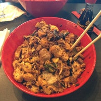 Photo taken at Genghis Grill by Jaime R. on 10/24/2013
