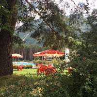 Photo taken at Piscine de Bourg Saint Maurice by Niels C. on 7/26/2016