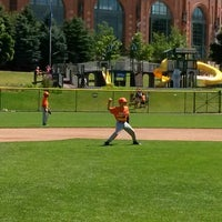 Photo taken at Helfaer Field by Edgar on 8/15/2014