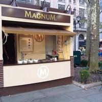 Photo taken at Magnum Ice Cream At Bryant Park by Kevin L. on 9/21/2013