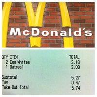 Photo taken at McDonald's by Daniel C. on 5/1/2013