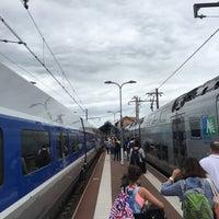 Photo taken at Gare SNCF d'Arcachon by Pierre L. on 7/31/2016