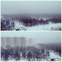 Photo taken at Салтыковский лесопарк by Nik U. on 1/16/2013