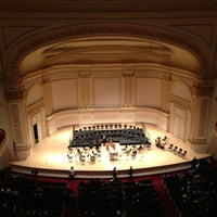 Foto tirada no(a) Carnegie Hall por David M. em 12/24/2012