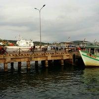Photo taken at Cảng Cá An Thới by Julien L. on 11/14/2015