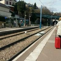 Photo taken at Station Suresnes – Longchamp [T2] by Julien L. on 3/21/2018