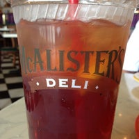 Photo taken at McAlister's Deli by Edward M. on 4/13/2014