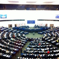 Photo taken at European Parliament by Ana H. on 4/17/2013
