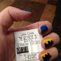 Photo taken at Marcus Lakes Cinema by Julie B. on 7/27/2013