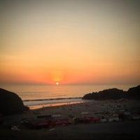 Photo taken at Playa León Dormido by Sergio L. on 4/16/2017