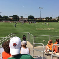 Photo taken at Cowgirl Soccer Complex by Katy H. on 9/4/2016