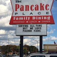 Photo taken at The Pancake Place by Travis S. on 10/19/2013