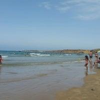 Photo taken at Playa Fuente Del Gallo by Jose Antonio on 7/30/2016