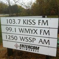 Photo taken at SportsRadio1250 by Steve Z. on 10/13/2012