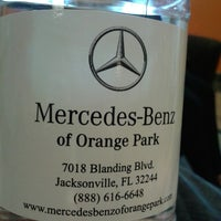 ... Photo Taken At Mercedes Benz Of Orange Park By Andy R. On 3/ ...
