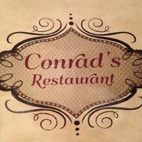 Photo taken at Conrad's Restaurant by Viv R. on 5/6/2013