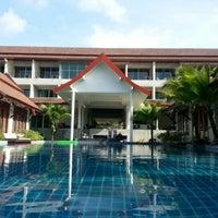 Photo taken at Lesprit De Naiyang Boutique Resort by The D. on 10/17/2012