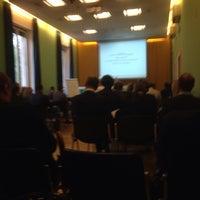 Photo taken at Ordine dei Dottori Commercialisti ed Esperti Contabili di Roma by Roberto R. on 5/13/2014