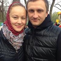 Photo taken at Благовiщенський собор УПЦ МП by Andrew D. on 4/20/2014