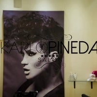 Photo taken at karlo pineda salon by Karlo P. on 3/21/2014