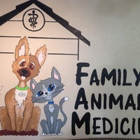 Photo taken at Family Animal Medicine by Nick E. on 9/25/2013