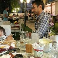 Photo taken at Han Restaurant & Cafe by Deniz A. on 7/1/2015
