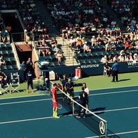 Photo taken at Practice Court 6 / Old Grandstand - USTA Billie Jean King National Tennis Center by Danielle D. on 9/6/2015