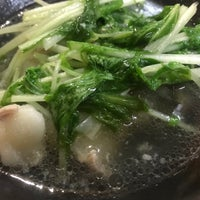 Photo taken at 韓国ラーメン 明洞 by ふれあ on 9/24/2017