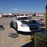 Foto tirada no(a) Bullring at Las Vegas Motor Speedway por Sal S. em 10/25/2013
