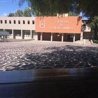 Photo taken at Facultad De Ciencias Quimicas by Andrea R. on 6/23/2016