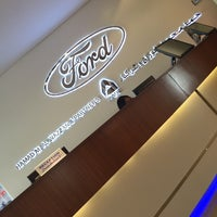 Photo taken at ford service center by Brown D. on 4/1/2015