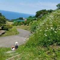 Photo taken at シーサイドパーク名立 by Yamatin on 5/27/2018