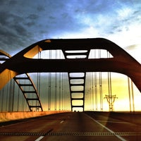 Photo taken at Mobile-Tensaw Delta Bridge by Clay L. on 5/11/2013
