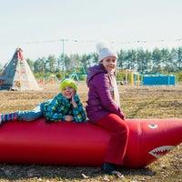 Photo taken at Пикник-парк Event by Полина В. on 4/27/2014
