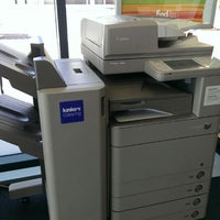Photo taken at FedEx Office Print & Ship Center by Petey P. on 7/22/2014