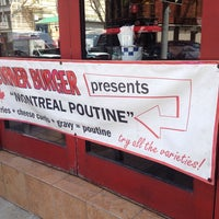 Photo taken at Corner Burger by The Park Slope W. on 4/28/2014