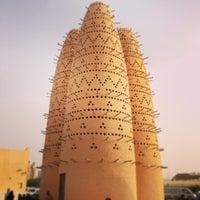 Photo taken at Katara Cultural & Heritage Village by Wajeeha H. on 7/21/2013