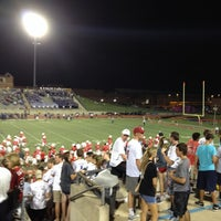 Photo taken at Buddy Echols Field by Scott S. on 10/12/2013
