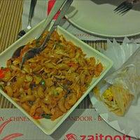 Photo taken at Zaitoon Restaurant by Srini B. on 9/30/2012