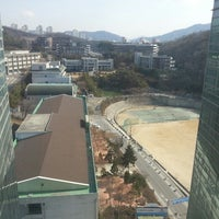 Photo taken at 강남대학교 샬롬관 by Ting L. on 3/25/2014