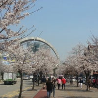 Photo taken at 강남대학교 샬롬관 by Ting L. on 4/3/2014