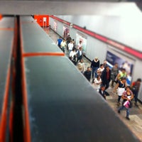 Photo taken at Metro Tacubaya by Andres B. on 7/16/2013