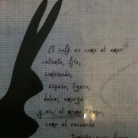 Das Foto wurde bei Café de Raíz von Andres B. am 11/19/2012 aufgenommen