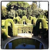 Photo prise au Parc del Laberint d'Horta par Alberto N. le5/2/2013